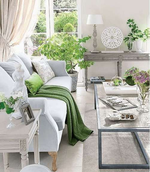 greenery en decoracion